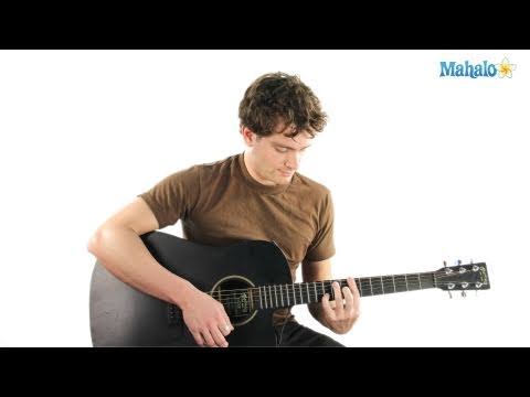 How to play a A Minor (Am) Chord on Guitar - YouTube