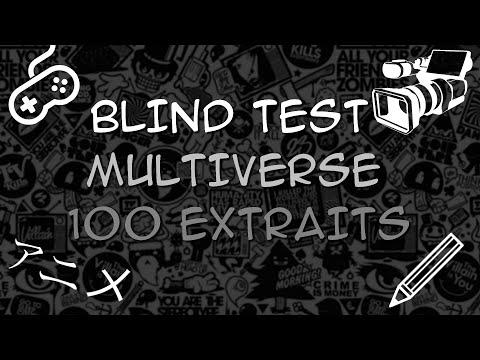 BLIND TEST - Multiverse ( ~ HARD )
