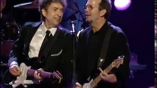 Gambar cover In Concert: A Benefit for the Crossroads Centre at Antigua [Eric Clapton & Bob Dylan] 1999