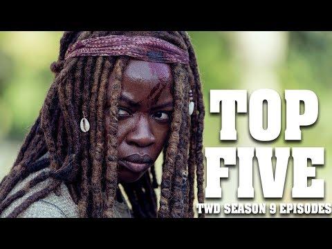 Top Five Episodes of The Walking Dead Season 9!