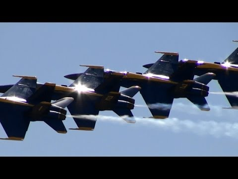 【HD】NAS Fort Worth Air Power Expo 2014 Blue Angels