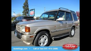 1998 Land Rover Discovery LSE 4x4 w/173K (BEND, Oregon)