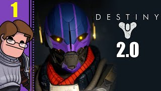 Let's Play Destiny 2.0 Solo Part 1 - Dinklebot is Dead, Long Live Nolandroid (Titan Gameplay)