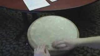 "Rhythm Lesson on A ""Remo Djembe"""