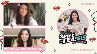 TRUTH ABOUT VERN AND VERNIECE'S SIBLING RIVALRY | SPILL THE TEA, SIS EP 2
