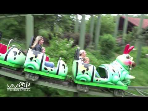 Achterbahn - Bayern Park onride & offride | Zierer | New Tivoli Coaster - Achterbahn im Bayern Park