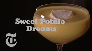 Holiday Drinks: Sweet Potato and Whipped Cream Dreams | The New York Times