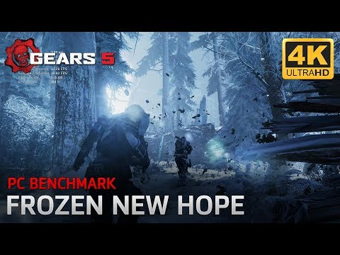 Gears 5 Tech Test - PC Benchmark (Frozen New Hope - Campaign Gameplay)