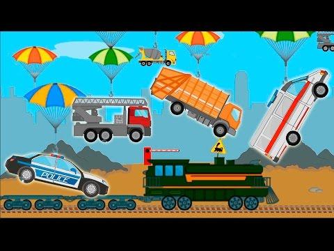 Мультики с машинками для детей! Полицейская машина скорая помощь у новом видео для детей!