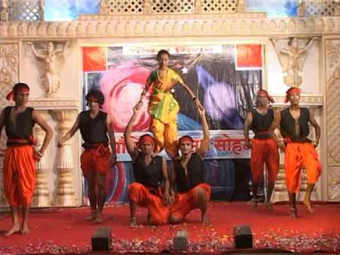 Jyotibachya navane chang bhale dance performance by Omkar Mission disciples
