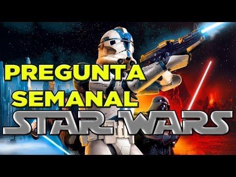 PREGUNTA DE LA SEMANA: ¿Nuevos juegos de Star Wars?