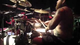 The Black Dahlia Murder Live in Jakarta Indonesia ( Shannon Lucas Drum Cam ) Part 1