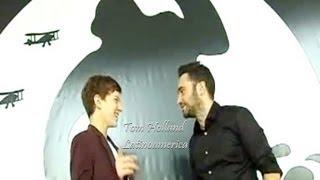 Tom Holland Y J.A Bayona En Sitges (Entrevista En Español)