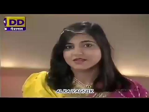 Ek do teen - Lovely Performance by Alka Yagnik || Yuvi Nitin'z ||