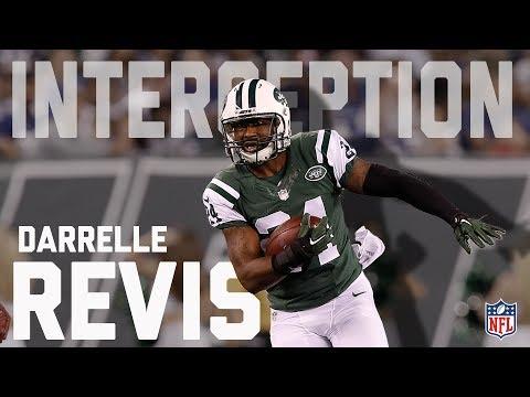 Every Darrelle Revis Interception... So Far | NFL Highlights