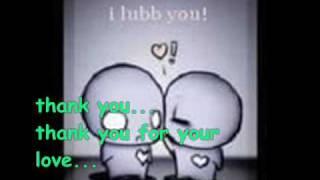 thank you for your love (w/ lyrics)  - dimsum