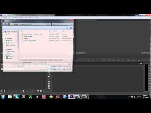 Premiere Pro CS6 not working