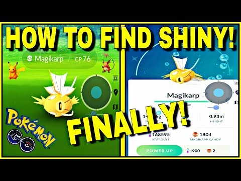 How to get a gold magikarp pokemon go