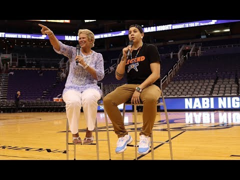Shoni Schimmel 2018 Q&A after PHX Mercury Game