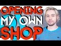 CHANNEL TALK - OPENING MY OWN SHOP ?!