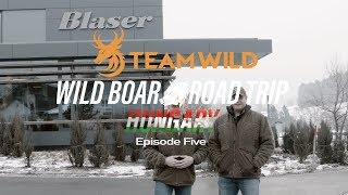 Wild Boar Hunting: The Blaser & Sauer Factory Tour