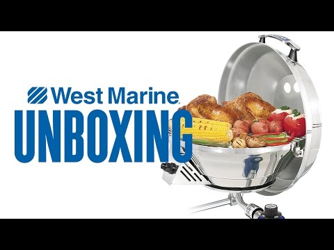 Magma Marine Kettle 3 Stove & Gas Grill - West Marine Unboxing