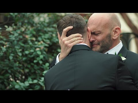 Heartfelt Gay Wedding Vows Will Make You Cry | Traine Raleigh NC | Daniel & John