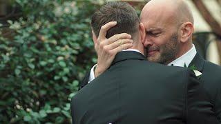 Heartfelt Gay Wedding Vows Will Make You Cry | Traine Raleigh NC | Daniel & John