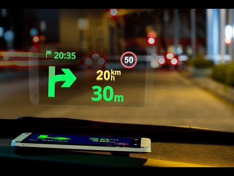 sygic gps navigation head up display hud youtube. Black Bedroom Furniture Sets. Home Design Ideas