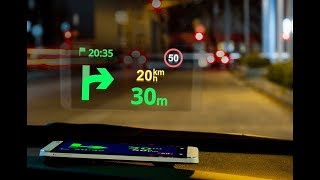 sygic gps navigation head up display hud