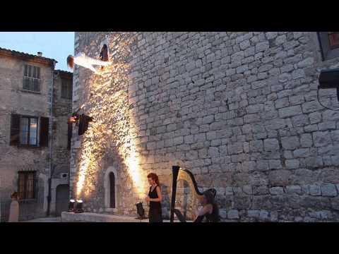 """Nuit d'étoiles - Compagnie """" rêverie danse verticale"""", Amy Blake et Magali Pyka de Coster"""