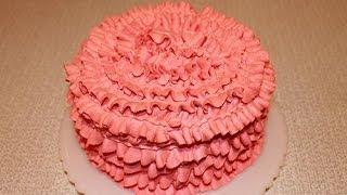Как  красиво украсить торт(Как красиво украсить торт в домашних условиях видео. Как приготовить крем из сливок. www.youtube.com/watch?v=wQwsH11CLFI., 2014-02-02T23:34:21.000Z)