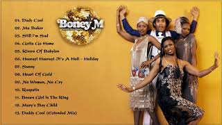 Boney M Greatest Hits - The Best Of Boney M Full Album 2020