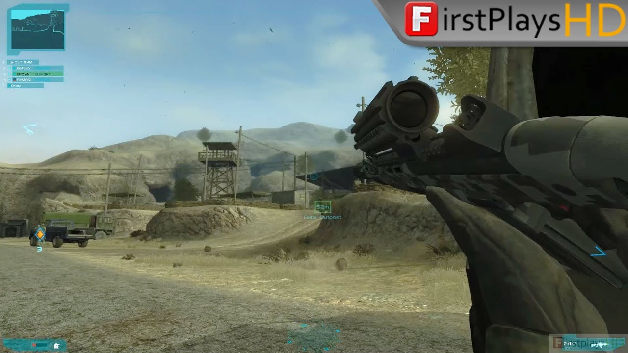 Tom Clancy S Ghost Recon Advanced Warfighter 2 2007 Pc