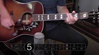 Psalm 34 Taste and See Shane amp Shane Acoustic Guitar Tutorial The Worship Initiative