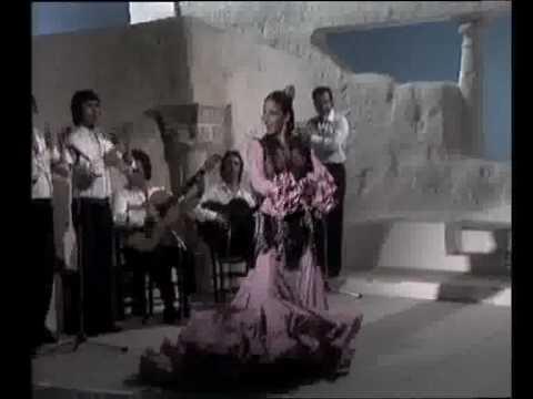 Baile por Alegrias de Cadiz de Milagros Mengibar