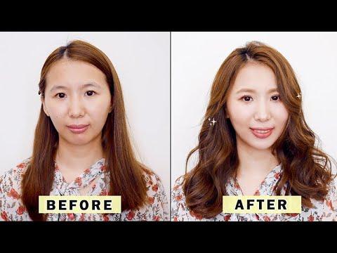 不用濾鏡自帶櫻花風 春天妝容 봄꽃 구성하다 Filter-on makeup tutorial