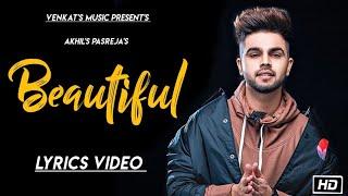 Beautiful Lyrics Akhil Ft Sara Gurpal Bob Music New Punjabi songs VENKAT& 39 S MUSIC 2019