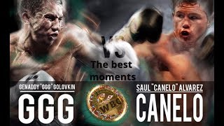 Golovkin(GGG)-Alvarez(Canelo).The best moments.Boxing2017