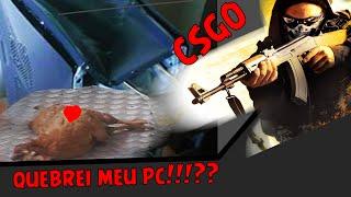QUEBREI MEU PC DE RAIVA!|Counter-Strike Global Offensive|| #AUMENTAOFEED