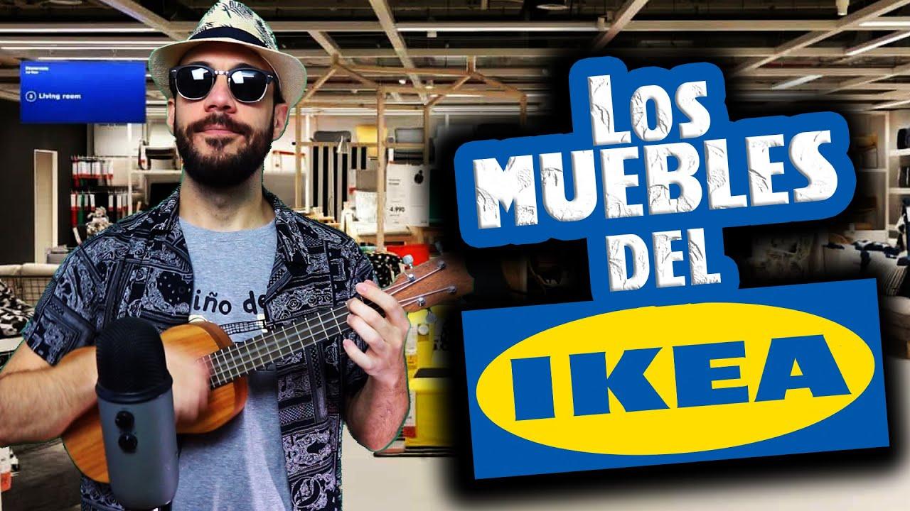 Los MUEBLES del IKEA 🎶🛋️ El Niño del Ukelele