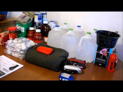 Hurricane And Disaster Emergency Survival List