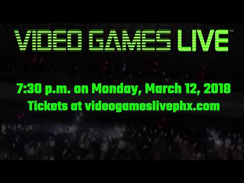Video Games Live in Phoenix, AZ!