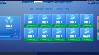 Complete All Your Fortnite Challenges By Using This Easy Glitch!