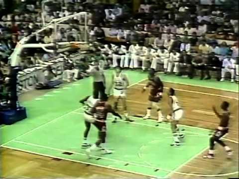 Michael Jordan 63 pts vs. Boston - Playoff Career High - 1986 1st Round Game 2