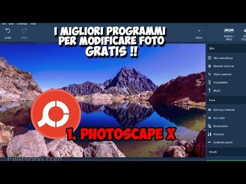I Migliori Programmi Per Modificare Foto GRATUITI 2018 - PHOTOSCAPE X