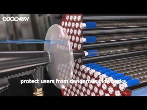 Goodway QS-300 Condenser Tube Cleaning Gun