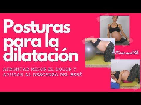 Posturas para la dilatación. Preparación al parto, tercer trimestre de embarazo