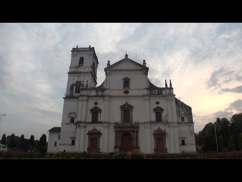 Se Cathedral, a world heritage site in Old Goa