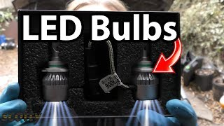 How to Install LED Headlight Bulbs in Your Car (LED vs Halogen)